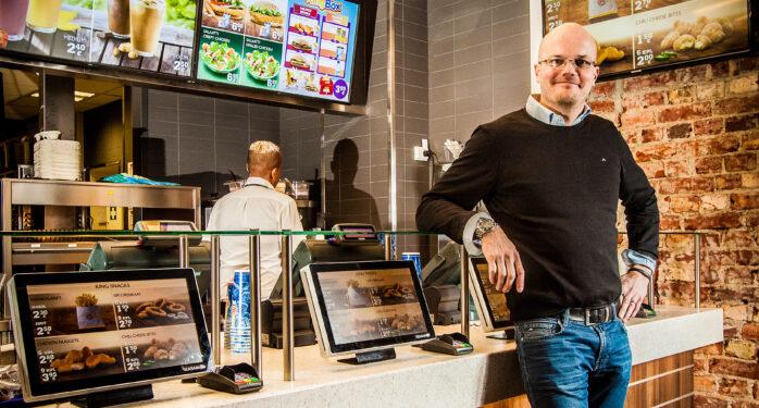 Mikko Mollberg ja Burger King