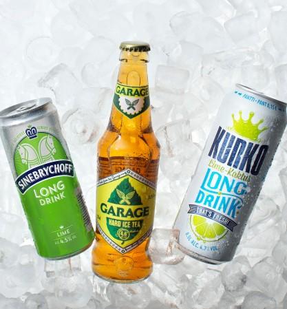 Long Drink -markkinoille on luvassa uusia makuyhdistelmiä ja uutta designia