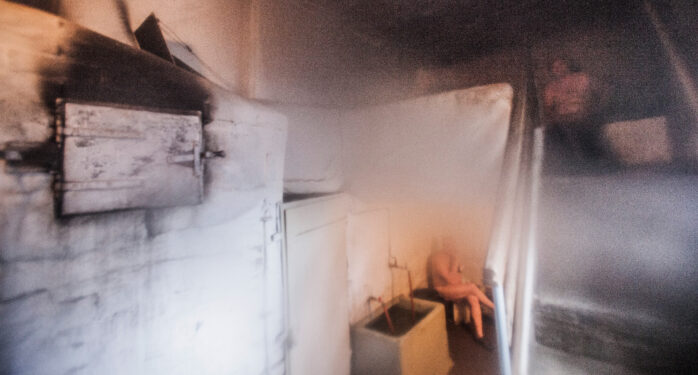 Rajaportin sauna on Pispalan helmi.
