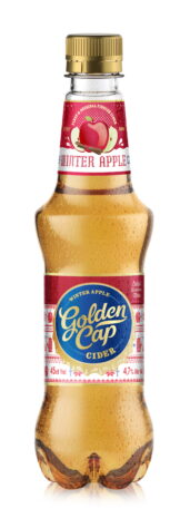 Golden Cap Winter Apple Cider 45cl kmp