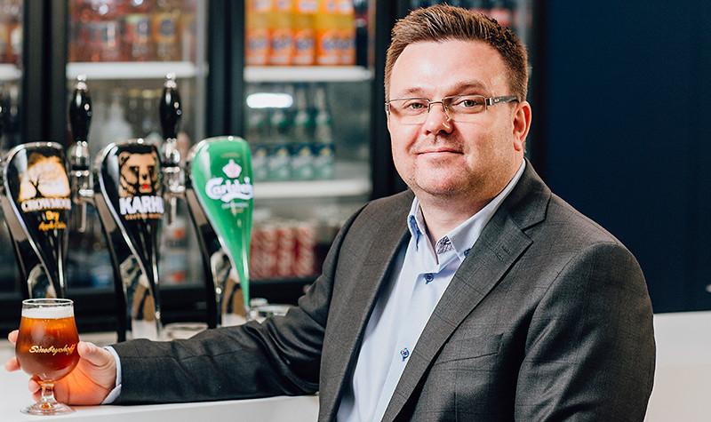 Lasillisella Alexander Laroma, Sinebrychoffin uusi Off Trade -kenttämyyntijohtaja