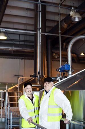 Oluen käymisestä syntyvä hiilidioksidi kierrätetään juomien kupliksi