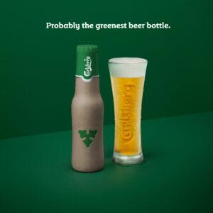 Carlsberg esitteli uuden vihreän kuitupullon