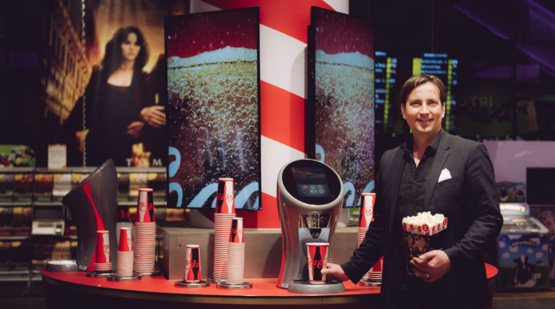 Coca-Cola toi vauhtia Finnkinon juomamyyntiin