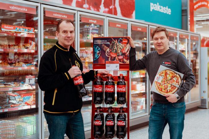 Yhdistä Coca-Cola ja ruoka jo kaupassa avullamme