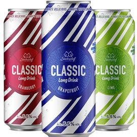 Sinebrychoff Classic Long Drink – suosikki nyt entistä suositumpi