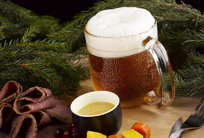 Olut on joulupöydän paras juoma
