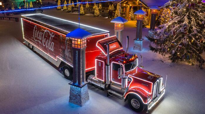 Coca-Colan Joulurekka kiertää jälleen