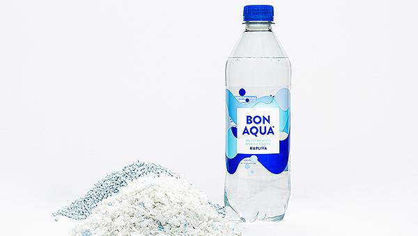 Sinebrychoff ja Coca-Cola ottavat käyttöön 100 % kierrätetystä muovista valmistetut vesipullot