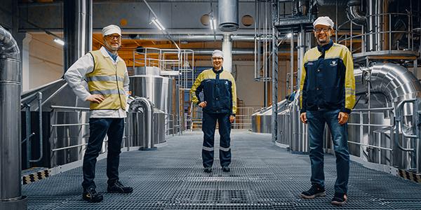 Sinebrychoff valmistaa juomansa jatkossa uusiutuvalla energialla – tavoitteena Keravan panimon hiilineutraalius