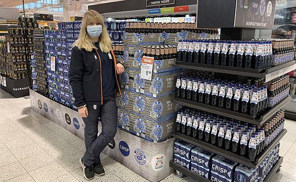 Espoon Mankkaassa alkoholittomat isosti esillä