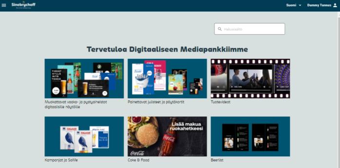 Hyödynnä digitaalista mediapankkiamme kuluttajien aktivoinnissa